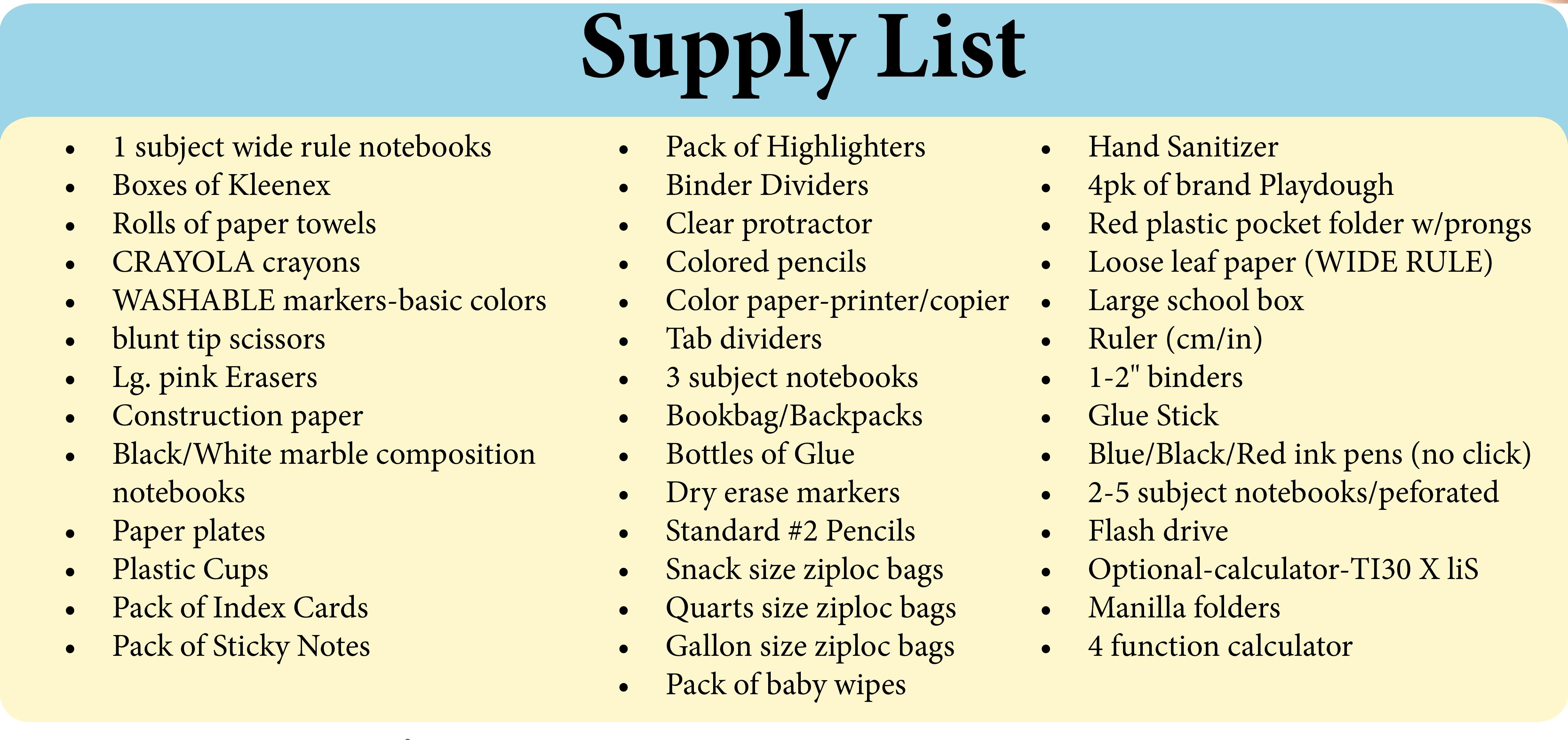 School supply drive -edited