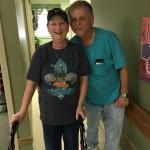 12 11 15 Vicky Frank Landry Visiting MTNC