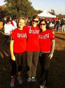 Tims Team Heart Walk